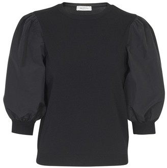Valentino Puffy sleeves sweater