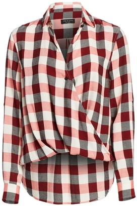 Rag & Bone Camile Buffalo Check Shirt