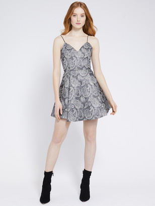 Alice + Olivia Anette Pleated Mini Dress