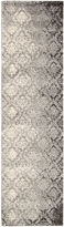 Kathy Ireland Royal Shimmer Wool Shag Runner Rug