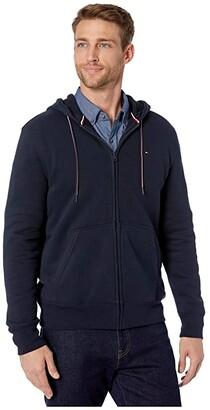 Tommy Hilfiger Plains Hoodie Zip-Up Sweatshirt
