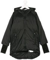 Nununu padded hooded coat
