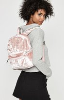 La Hearts Velour Backpack