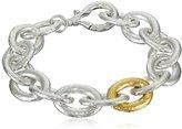 Gurhan Galahad Sterling Silver Medium Oval Link Bracelet