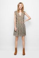 Zadig & Voltaire Rimana Print Deluxe Dress