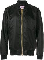 Palm Angels bomber jacket - men - Cotton/Polyamide/Spandex/Elastane/Viscose - S