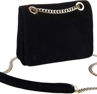 Freya Rose Kate Petite Black Suede Bag