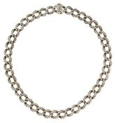 Scott Kay Textured Curb Link Necklace