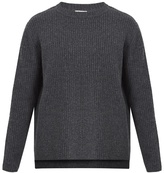 Acne Studios Nicholas Oversized Ribbed-knit Wool Sweater