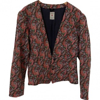Ungaro Parallele Pink Cotton Jacket for Women Vintage