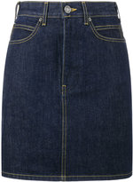 Calvin Klein mini denim skirt