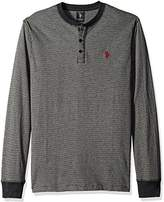 U.S. Polo Assn. Men's Long Sleeve Henley Pullover