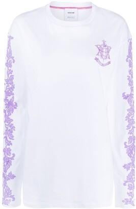 Koché EPK monogram longsleeved T-shirt