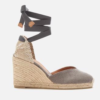 Castaner Women's Chiara Wedged Espadrille Sandals - Plomo