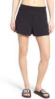 Ivy Park Embroidered Neoprene Shorts
