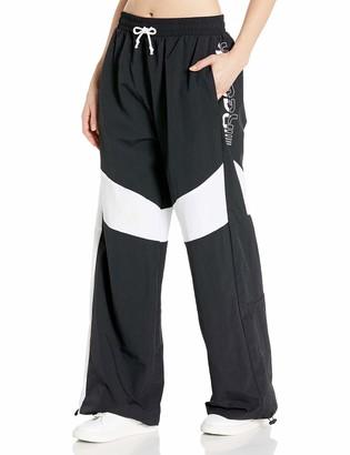 Reebok Workout Ready MYT Woven Wide Leg Pant Black