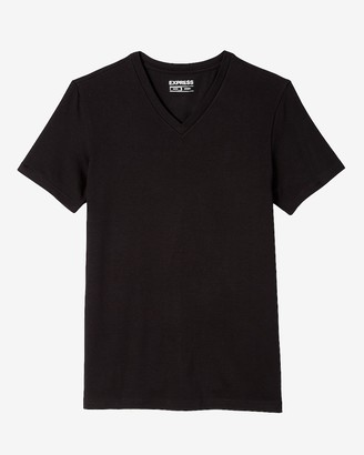Express Slim Supersoft V-Neck T-Shirt