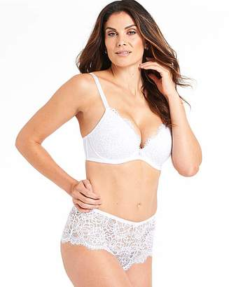 Pretty Secrets Jade Lace Plunge Wired Bra