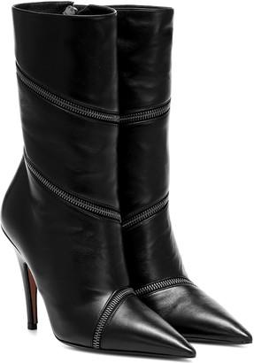 Samuele Failli Zip-around 85 leather boots
