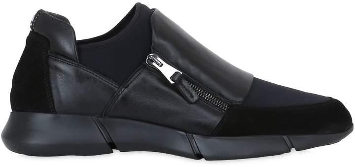 Elena Iachi 20mm Neoprene & Leather Sneakers