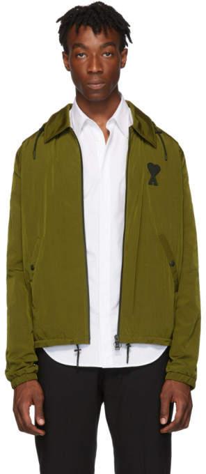 0e9b5daf8b6e4 Hooded Olive Jacket - ShopStyle