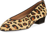 Sesto Meucci Leopard-Print Calf Hair Pump