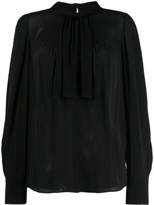 Twin-Set Collared Blouse