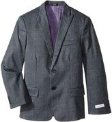 Calvin Klein Kids - Printed Knit Diamond Mesh Jacket Boy's Coat