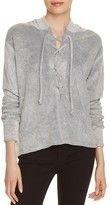 LnA Lace-Up Hoodie