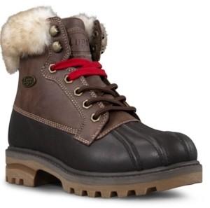 Lugz Women's Mallard Fur Classic Duck Toe Memory Foam Chukka Regular Fashion Boot Women's Shoes