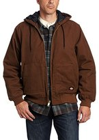 Dickies Men's Sanded Duck Hooded Jacket