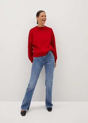 MANGO Oversize sweater red - S - Women
