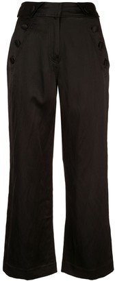 Derek Lam 10 Crosby Button Pocket Culottes