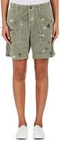 NSF Women's Braxton Paint-Splattered Cotton Shorts