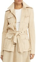 Lauren Ralph Lauren Cotton Twill Field Jacket