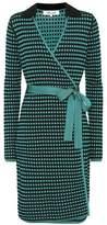 Diane von Furstenberg Checked wrap dress