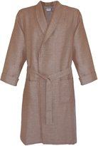 Armani International Waffle Linen Cotton Bath Robe