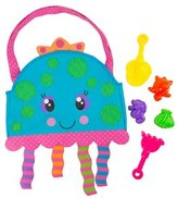 Stephen Joseph Kids' Jellyfish Beach Tote (Includes Sand Toy Set) 8145857