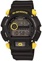 Casio Men's G-Shock Black with Yellow Detail Digital Sports Watch
