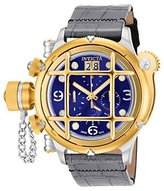 Invicta Men's 'Russian Diver' Swiss Quartz Stainless Steel and Two Tone Leather Casual Watch (Model: 17346)