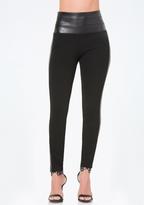 Bebe Petite Studded Tux Leggings