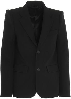 Balenciaga Curved Shoulder Blazer