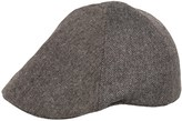 Weatherproof Herringbone Driving Cap - Wool Blend, 6-Panel (For Men)