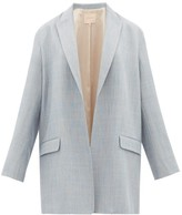 Roksanda Shida Oversized Blazer - Womens - Grey