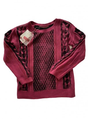 Comptoir des Cotonniers Red Cotton Knitwear