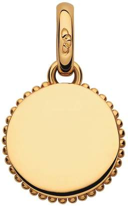 Links of London Yellow Gold Narrative Miniature Disc Bracelet Charm
