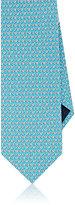 Salvatore Ferragamo Men's Floral Silk Necktie