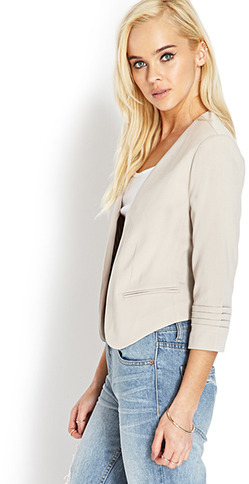 Forever 21 Tiered Sleeve Blazer