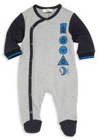 Armani Junior Baby's Cotton Graphic Footie