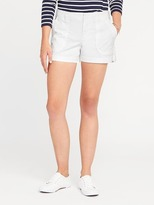 "Old Navy Pixie Chino Utility Shorts for Women (3 1/2"")"